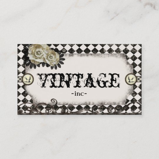 Classic Vintage Inspired Business Cards Zazzle