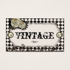 Classic Vintage Inspired Business Cards at Zazzle