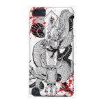 Classic vintage  japanese Blood  Dragon Tattoo iPod Touch (5th Generation) Case
