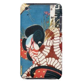 Classic vintage japanese kabuki samurai Utagawa iPod Touch Case