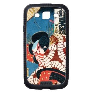 Classic vintage japanese kabuki samurai Utagawa Samsung Galaxy SIII Cover