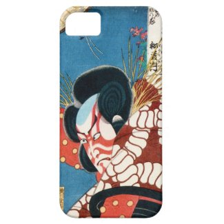 Classic vintage japanese kabuki samurai Utagawa iPhone 5 Cover