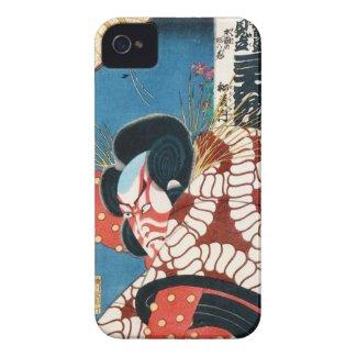 Classic vintage japanese kabuki samurai Utagawa iPhone 4 Cover