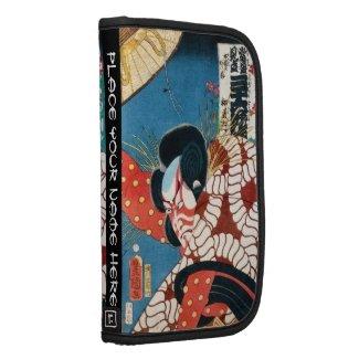 Classic vintage japanese kabuki samurai Utagawa Planners