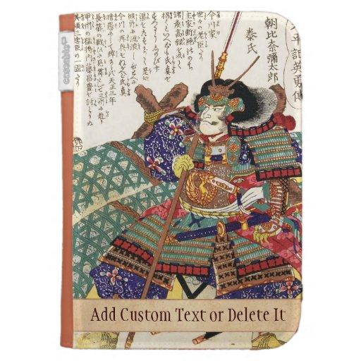 Classic Vintage Japanese Samurai Warrior General Kindle 3 Case