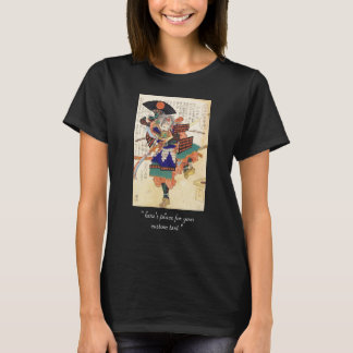 Classic Vintage Japanese Samurai Warrior General T-Shirt