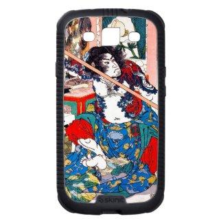 Classic vintage japanese samurai warrior portrait samsung galaxy SIII case