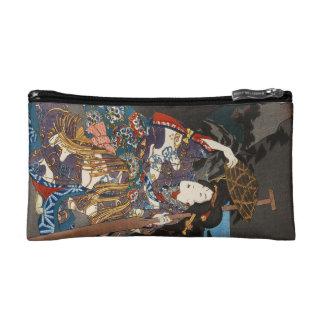 Classic vintage japanese ukiyo-e geisha  Utagawa Cosmetics Bags