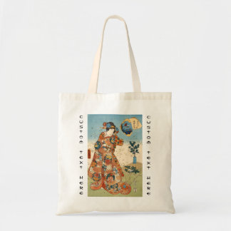 Classic vintage japanese ukiyo-e geisha Utagawa Tote Bag