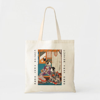 Classic vintage japanese ukiyo-e geishas Utagawa Tote Bag