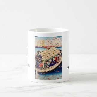 Classic vintage japanese ukiyo-e geishas Utagawa Coffee Mug