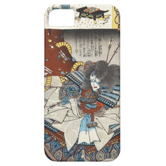 Classic vintage japanese ukiyo-e samurai Utagawa iPhone 5 Case