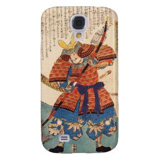 Classic vintage japanese ukiyo-e samurai warrior samsung galaxy s4 covers