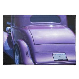 Classic Vintage Lavender Purple Chevy - Chevrolet Place Mat