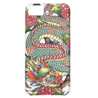 Classic vintage oriental japanese Dragon Tattoo iPhone 5C Cover