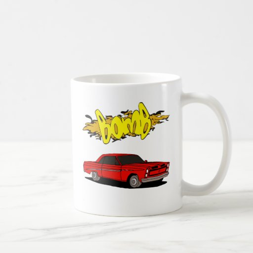 Classic Vintage Pony or Muscle Car Classic White Coffee Mug