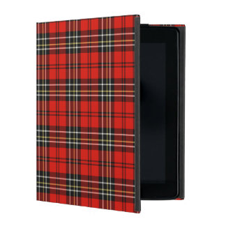 Classic Vintage Red Plaid iPad Covers