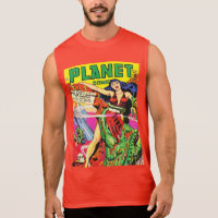 CLASSIC VINTAGE SCIENCE FICTION COMICS SLEEVELESS SHIRT
