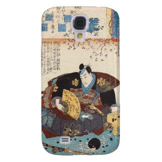Classic vintage ukiyo-e japanese samurai Utagawa Galaxy S4 Case
