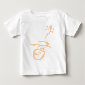 Classic Violin in Swish Drawing Style Baby T-Shirt