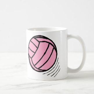 Classic Volleyball Pink Game Mug