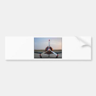Classic Warbird Bumper Sticker