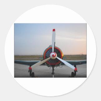 Classic Warbird Classic Round Sticker