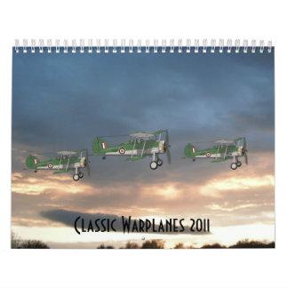 Classic Warplanes 2011 Calendar