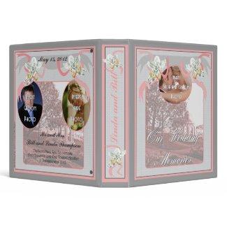 Classic Wedding Memories Album binder