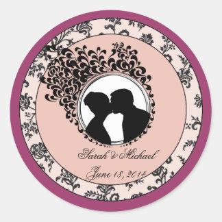 Classic Wedding Sticker / Seal