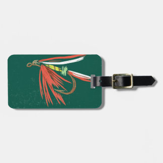 Classic Wet Fly Luggage Tag