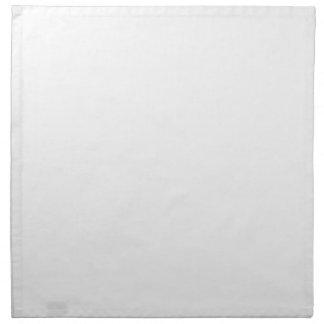 Classic White Background on a Napkin