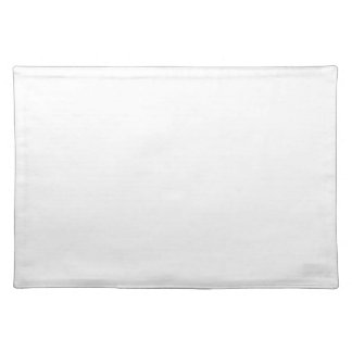 Classic White Background on a Placemat