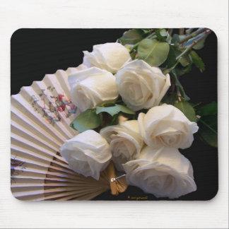 Classic White - Fan Mousepad