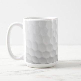 Classic White Golf Ball Dimples Mug