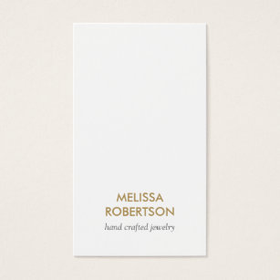 Jewelry making business cards templates zazzle classic white jewelry design business card colourmoves