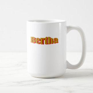 Classic White Mug of Bertha