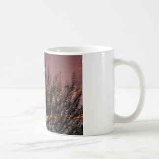 Classic White Mug SUNSET TREE PHOTOGRAPH