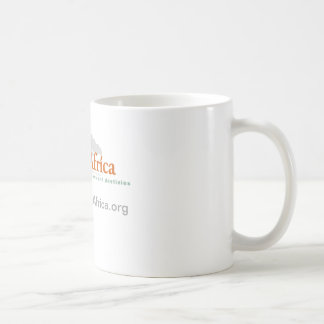 classic white mug with Develop Africa Logo