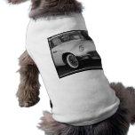 Classic White T-bird Doggie T-shirt