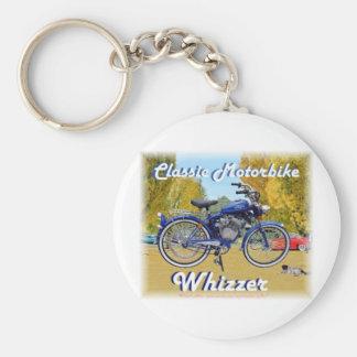 Classic Whizzer Motorbike Key Chains