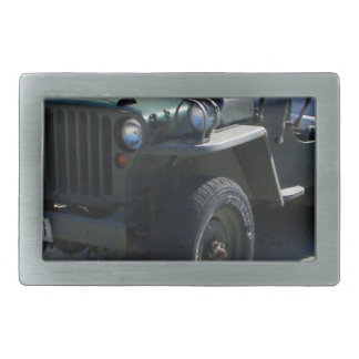 Classic Willy's Jeep. Belt Buckle