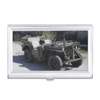 Classic Willys Jeep Business Card Holder