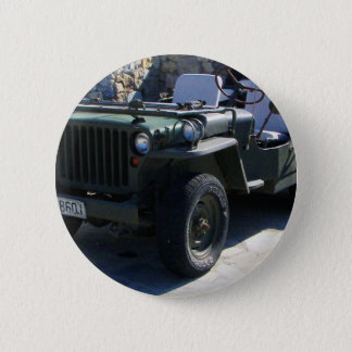 Classic Willy's Jeep. Button