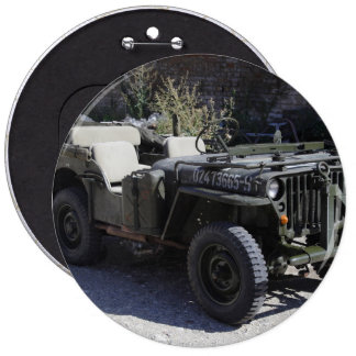 Classic Willys Jeep Button