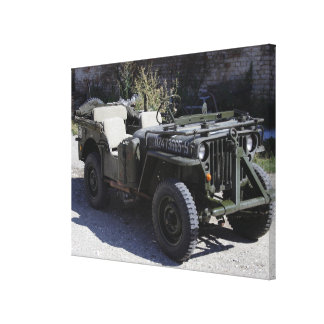 Classic Willys Jeep Canvas Print