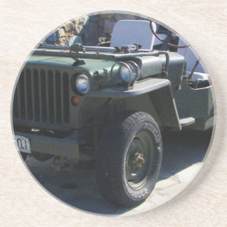 Classic Willy's Jeep. Drink Coaster