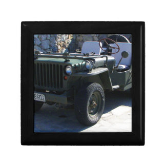 Classic Willy's Jeep. Keepsake Box