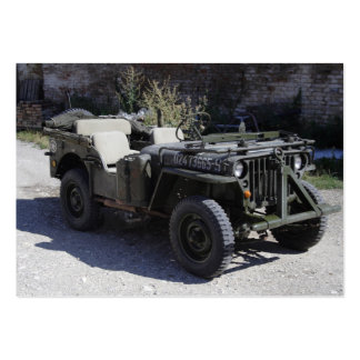 Classic Willys Jeep Large Business Cards (Pack Of 100)