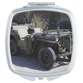 Classic Willys Jeep Makeup Mirror